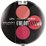 Bourjois - Colorissimo lip palette, paleta de colores de labios, tono roses fashion