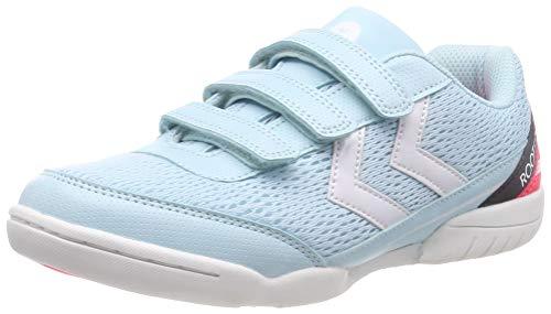 Hummel Unisex-Kinder Root JR 2.0 3VC_Dach SMU Multisport Indoor Schuhe, Blau (Iced Aqua 7325), 30 EU