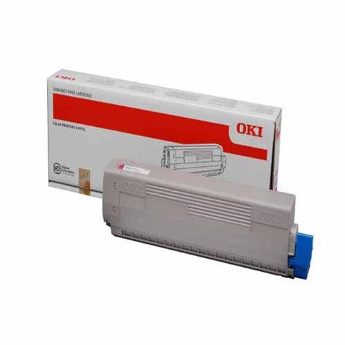 OKI Toner Magenta 7.300 Seiten fuer C822N/C822DN