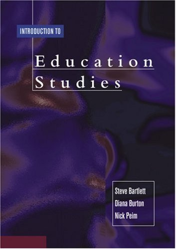 Introduction to Education Studies by Steve Bartlett (2001-07-18)