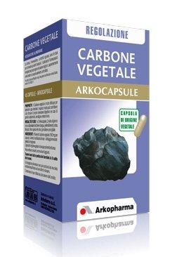 Arkocapsule Linea Benessere Intestinale Carbone Vegetale Integratore 45 Capsule