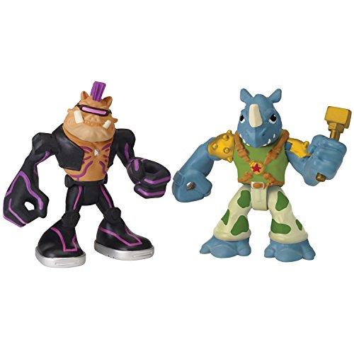 Teenage Mutant Ninja Turtles pre-Cool Half Shell Heroes Bebop and Rocksteady Figures