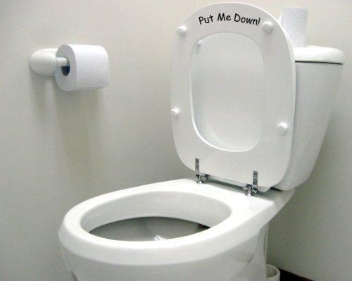Vinylworld Humorous funny joke toilet decal sticker