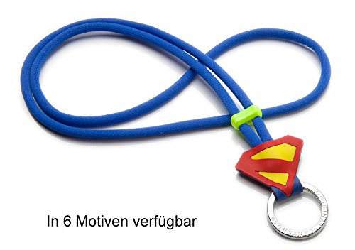 Original Lanyards® SUPER Powers stylisches Super Helden Schlüsselband, Schlüsselanhänger, Lanyard in 6 Motiven erhältlich - (Made In Portugal) ⭐️⭐️⭐️