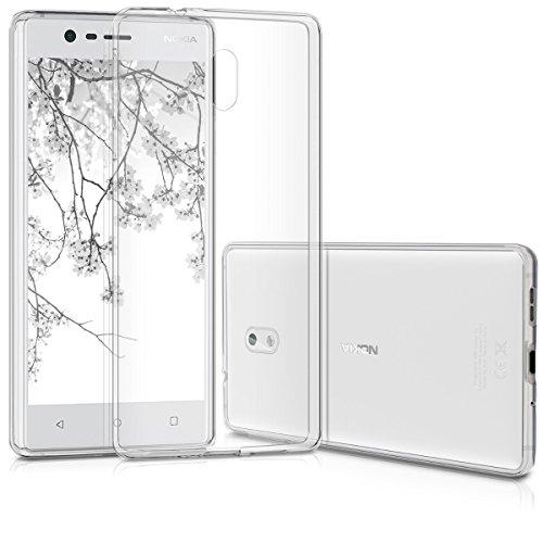 kwmobile Nokia 3 Hülle - Handyhülle für Nokia 3 - Handy Case in Transparent