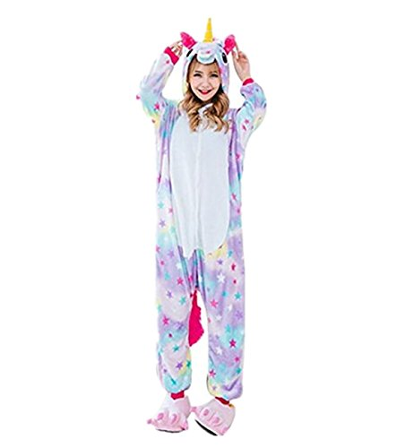 Imagen de prettycos infantil unicornio pijama ropa de dormir unisex disfraz unicornio cosplay animales pijamas para ninos