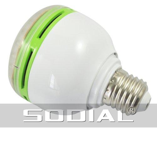 SODIAL (R) Luce a 48 LED lampadina Bianca E27 220v sensore di (Notte Bagno Luce Decor)