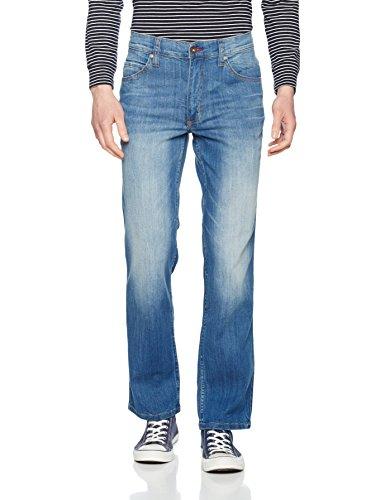 MUSTANG Herren 3169-5638-Big Sur Straight Jeans, Blau (Super Stone...