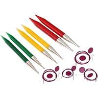KnitPro Trendz - Juego de agujas de tejer intercambiables, multicolor