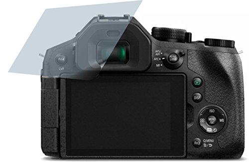 fz300 buch 4x Crystal clear klar Schutzfolie für Panasonic Lumix DMC-FZ300 Premium Displayschutzfolie Bildschirmschutzfolie Schutzhülle Displayschutz Displayfolie Folie