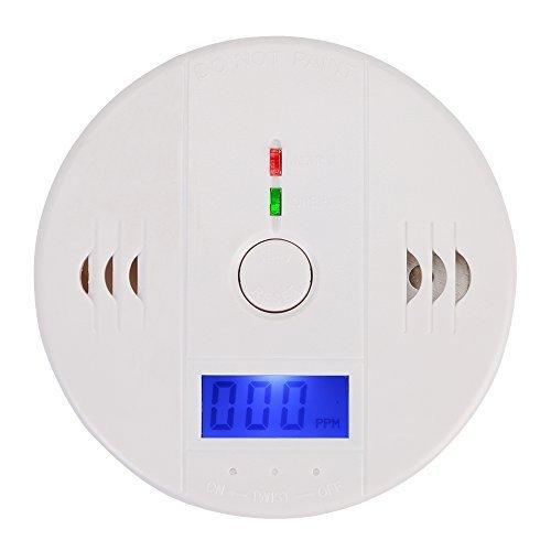 Besmall Rilevatore LCD Tester Monossido di Carbonio CO Sensore Allarme