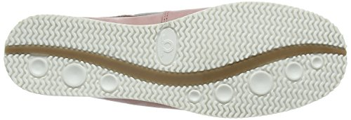 Chatham Josie Colour Block Deck Shoe, Chaussures Bateau Femme Multicolore - Multicolor (White Pink Tan)
