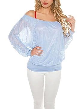 KouCla - Camisas - Básico - Cuello redondo - para mujer
