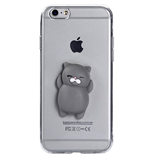 iPhone 6S Plus Hülle, Voguecase Silikon Schutzhülle / Case / Cover / Hülle / TPU Gel Skin für Apple iPhone 6 Plus/6S Plus 5.5(Pinch Puppen - Ente) + Gratis Universal Eingabestift Pinch Puppen - Bär