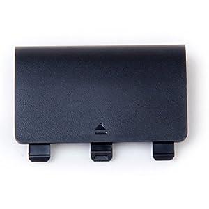 Pixnor Batteriefachklappe für den Controller, Schalenabdeckung, Ersatzteil für die Xbox One (schwarz).