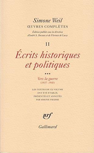 uvres compltes (Tome 2 Volume 3)-crits historiques et politiques)