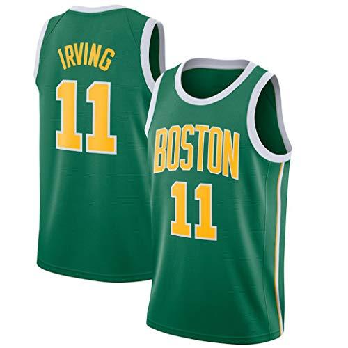 CRBsports Kyrie Irving, Jersey De Baloncesto, Celtics, Edición Ganada, Nueva Tela Bordada, Ropa Deportiva De Botín (Verde, XXL)