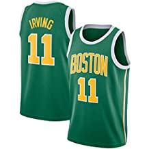 CRBsports Kyrie Irving, Jersey De Baloncesto, Celtics, Edición Ganada, Tela Bordada,
