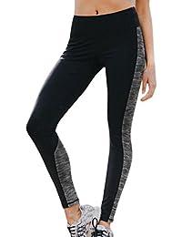 HARRYSTORE Mujer Pantalones elásticos de yoga Mujer Pantalones deportivos elásticos y cómodos mujer Polainas