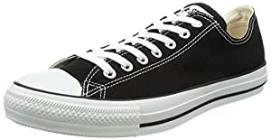 CONVERSE Chuck Taylor All Star Seasonal Ox, Unisex-Erwachsene Sneakers, Schwarz (Black), 41.5 EU