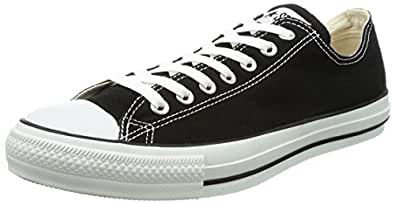 Converse Chuck Taylor All Star Low Top Black Sneakers - 4 M US Big Kid