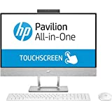 """HP Pavilion 24 All-in-One 23.8"""" Multi-Touch Full HD Desktop - 7th Gen Intel Core I5-7400T Processor Up To 3.00 GHz, 8GB DDR4 RAM, 1TB HDD + 16GB Intel Optane Memory, Intel HD Graphics, Windows 10"""