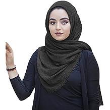 5fce4f169fd SAFIYA - Hijab pour femmes musulmanes voilées I Foulard voile turban écharpe  pashmina châle islamique I