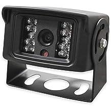 Yatek Cámara de visión Trasera con óptica Sony CCD e IR para maquinaria, Camiones o