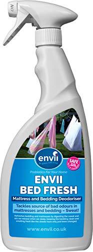 Envii Bed Fresh – Matratzen- und Bettzeug-Auffrischer, Reiniger & Geruchsentferner Spray (750ml)