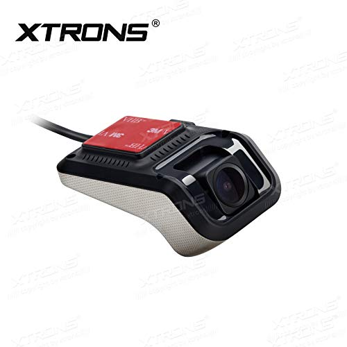 Kamera Usb Dvr (XTRONS 1080p Auto Kamera Auto DVR Videorecorder Dash Cam 140°Weitwinkel Kamera USB Mini Recorder, Nachtversion für Android Autoradio)