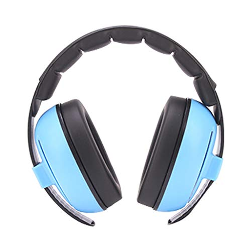 Kopfhörer mit Geräuschunterdrückung, schalldichte Kinder-Kopfhörer, Kopfhörer mit Geräuschschutz.Geräuschpegel 23 dB, geeignet for Kinder und Kleinkinder im Alter von 0 bis 3 Jahren (Color : Pink)