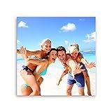 ge Bildet® hochwertiges Leinwandbild - Ihr eigenes Foto - Ihr Wunsch-Motiv auf Künstler-Leinwand - 70 x 70 cm einteilig