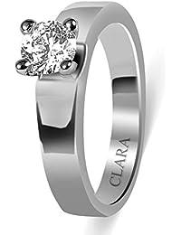 Clara Swarovski The Ramon 92.5 Sterling Silver Designer Ring For Men And Boys