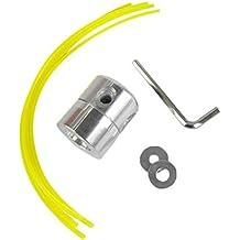 EMVANV Cortador de césped universal de aluminio, cortacésped de línea de nailon, cortacésped de