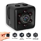 bqmqolove Mini Telecamera di Sicurezza Night Vision Camera 1080P Cube Portatile HD Camera Motion Detection Camera