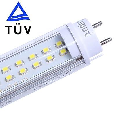 Lighting EVER 18W 1.2M T8 Röhre, Ersetzt 45W Leuchtröhre, Tageslicht Weiß, TUV- Zulassung von Lighting EVER bei Lampenhans.de
