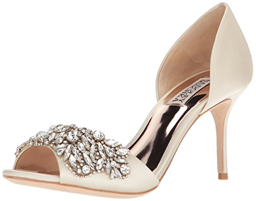 Badgley Mischka Damen Hansen elfenbeinfarben 38 M EU Badgley Mischka Bridal