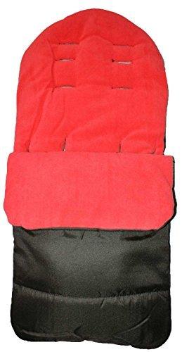 Universal–Saco para todos carrito/cochecito/cochecito, color rojo