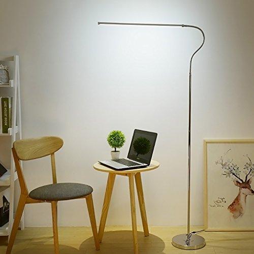 FGLDD Lampe de plancher LED oeil télécommande dimming apprentissage lampadaire Chambre salon Salle d'étude bras long debout lampe Lampe de bureau à domicile taille: 25 * 122cm
