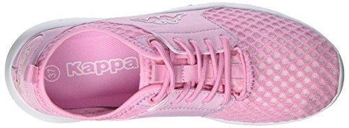 Kappa Sol, Sneakers Basses Femme Rose (Rosé/white)