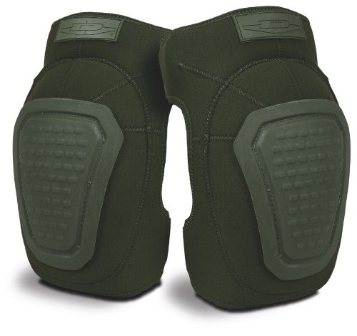 Damascus Dnkpod Imperial Neoprene Knee Pads With Reinforced Non-Slip Trion-X Caps, Olive Drab by Damascus Protective Gear -