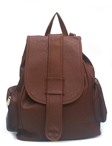 Vintage Women's Backpack Handbag (Dark Brown,Bag 163)  available at amazon for Rs.445