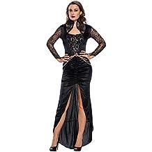 Shangrui Mujeres Cosplay Disfraces Serie Vestido Traje de la Reina Malvada