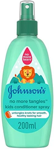 JOHNSON'S Kids Conditioner Spray - No More Tangles, 200ml