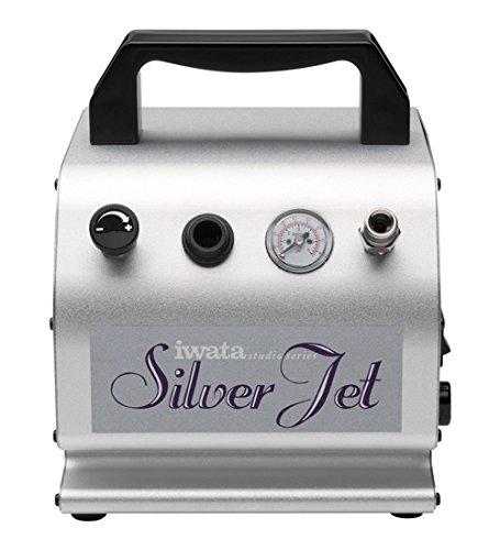 Iwata Studio Series Silver Jet Airbrush-Kompressor