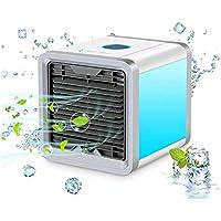 Mobile Klimaanlage Air Cooler Luftbefeuchter Lufterfrischer Klimagerät (weiss)
