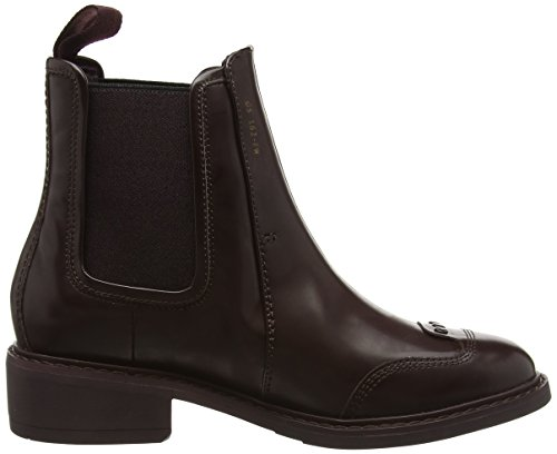 G-STAR RAW Guardian Loafer, Chelsea Bottes Femme Rouge (Russet 708)