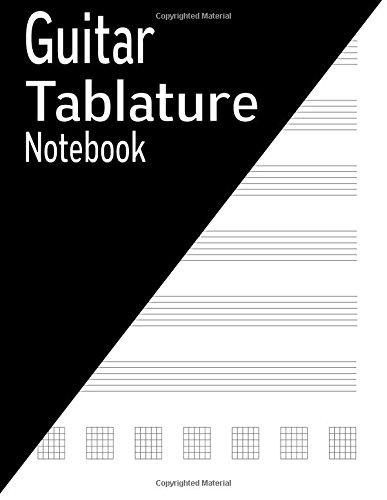 Guitar Tablature Notebook