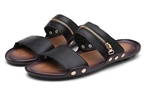 Estate nuova tendenza della parola uomini di trascinamento spiaggia di spiaggia scarpe casual scarpe da uomo 2