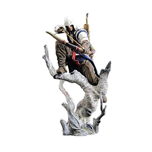 LJJOO Männliche Assassin Anime Statue Anime Skulptur Modell Für Hobby Desktop Dekoration Sammlung Dekoration Toy (Tv Figur Kostüme Für Verkauf)